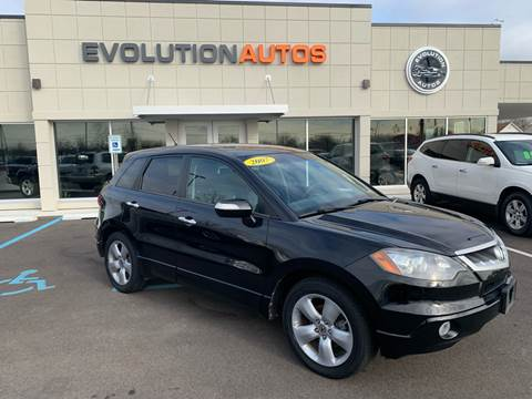 2007 Acura RDX for sale at Evolution Autos in Whiteland IN