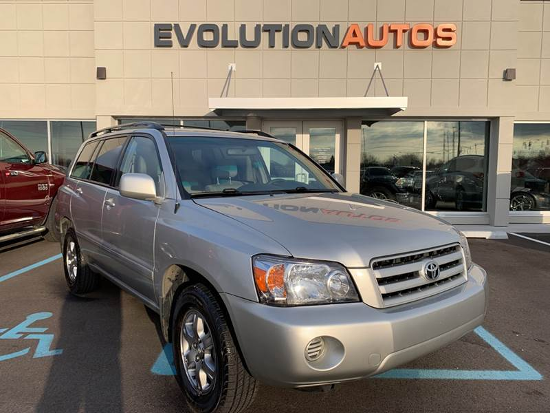 2006 Toyota Highlander for sale at Evolution Autos in Whiteland IN