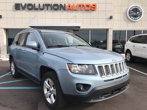2014 Jeep Compass for sale at Evolution Autos in Whiteland IN