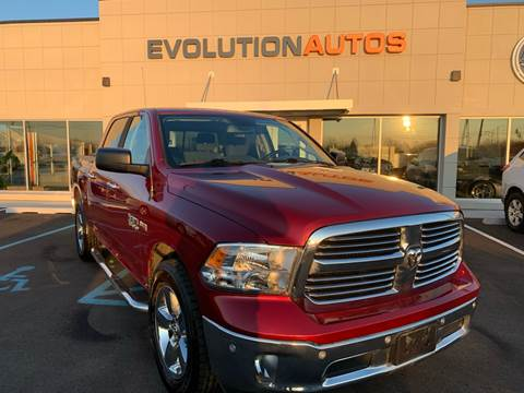 2014 RAM Ram Pickup 1500 for sale at Evolution Autos in Whiteland IN