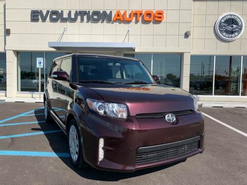2015 Scion xB for sale at Evolution Autos in Whiteland IN