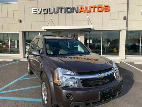 2007 Chevrolet Equinox LT for sale at Evolution Autos in Whiteland IN