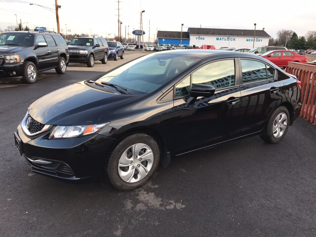 2015 Honda Civic LX 4dr Sedan CVT - Franklin IN