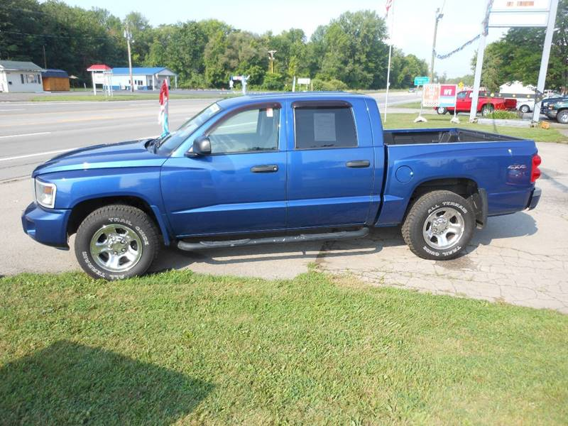 2009 Dodge Dakota 4x4 BigHorn Crew Cab 4dr - Williamson NY