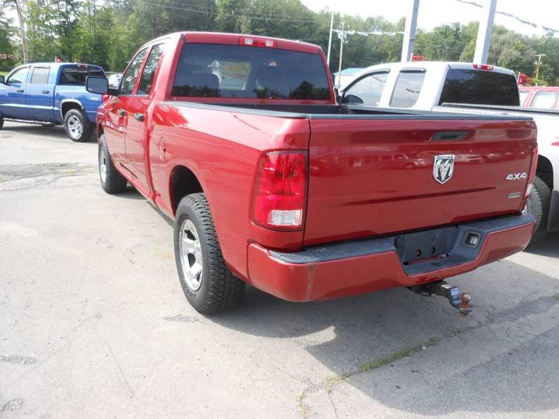 2009 Dodge Ram Pickup 1500 4x4 SLT 4dr Quad Cab 6.3 ft. SB - Williamson NY