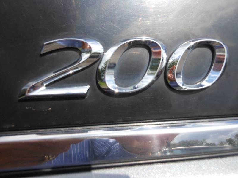 2012 Chrysler 200 Touring 4dr Sedan - Williamson NY