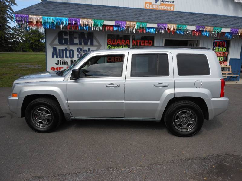 2010 Jeep Patriot 4x4 Sport 4dr SUV - Williamson NY