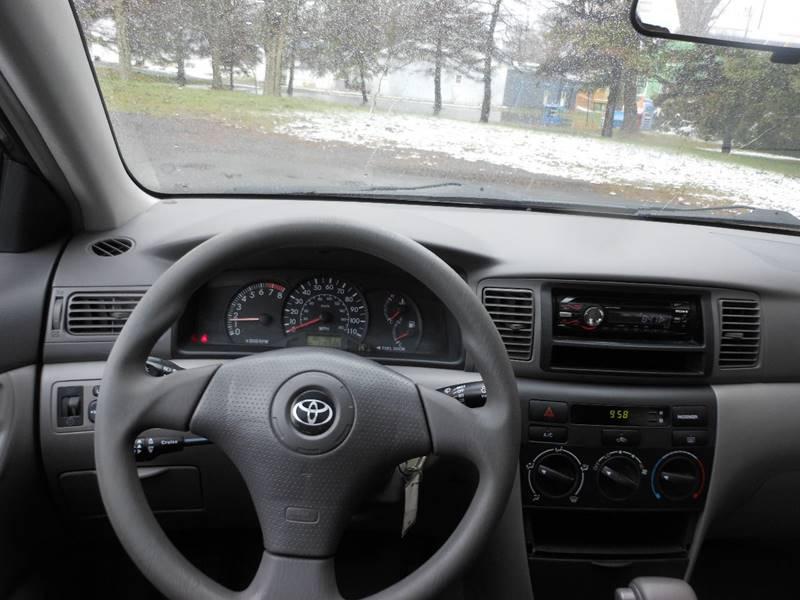 2004 Toyota Corolla CE 4dr Sedan - Williamson NY