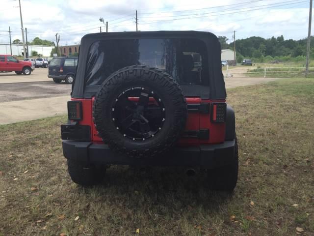 2013 Jeep Wrangler 4x4 Sport 2dr SUV - Texarkana TX