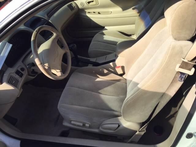2001 Toyota Camry Solara SE V6 2dr Coupe - Texarkana TX