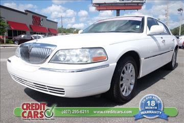 2007 Lincoln Town Car for sale in Orlando, FL