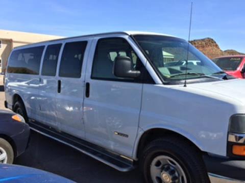 2005 Chevrolet Express Passenger for sale in Hurricane, UT