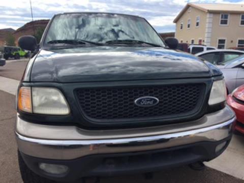 2001 Ford F-150 ... & Ford Used Cars Pickup Trucks For Sale Hurricane Keystone markmcfarlin.com