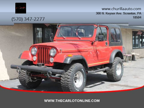 1986 Jeep CJ-7 for sale in Scranton, PA