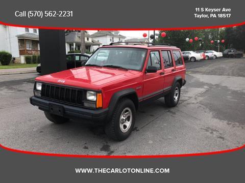 1996 Jeep Cherokee for sale in Scranton, PA