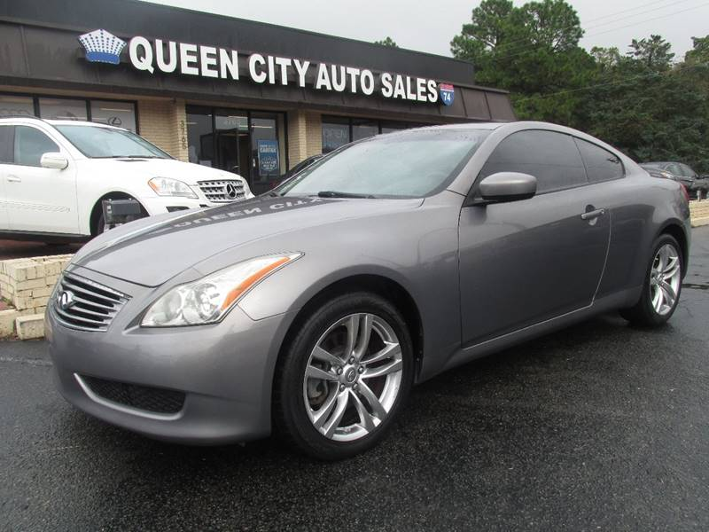 2009 Infiniti G37 Coupe Awd X 2dr Coupe In Charlotte Nc Queen City