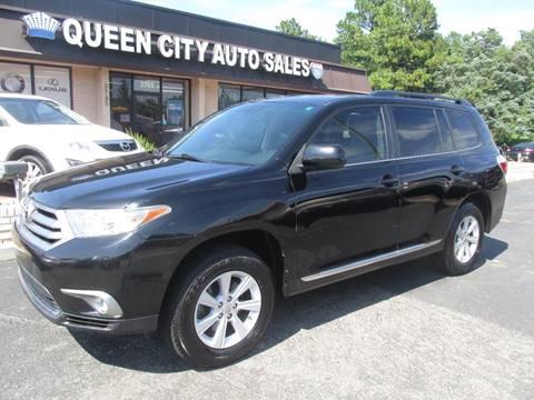 2012 Toyota Highlander For Sale >> Toyota Highlander For Sale In Charlotte Nc Queen City