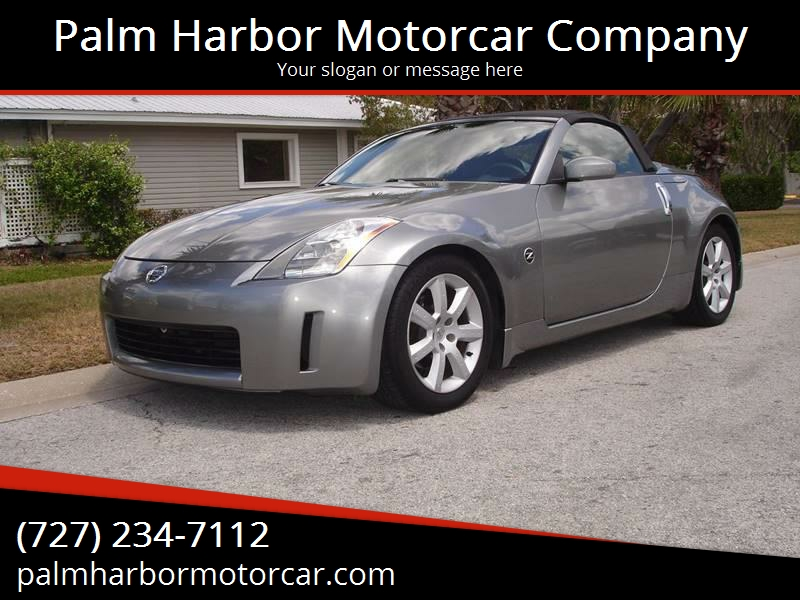 2004 Nissan 350z Enthusiast 2dr Roadster In Palm Harbor Fl Palm