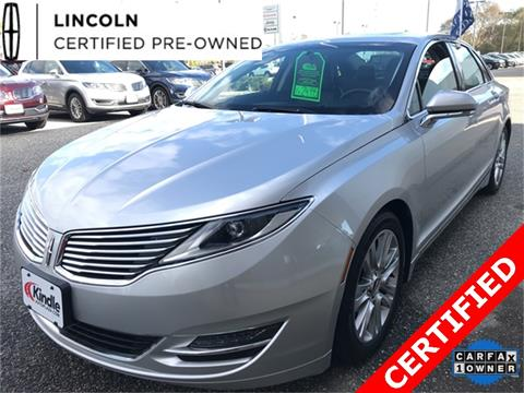 2015 Lincoln MKZ for sale in Middle Township, NJ