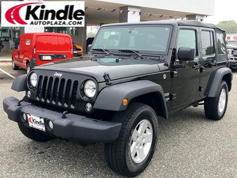 2018 Jeep Wrangler Unlimited for sale in Middle Township, NJ