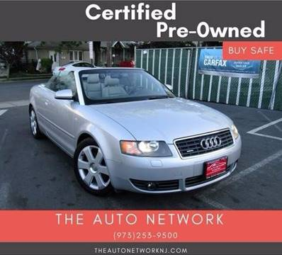 2005 Audi A4 for sale at The Auto Network in Lodi NJ