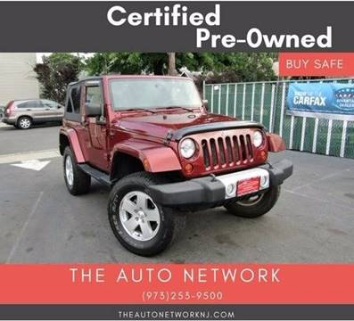 2010 Jeep Wrangler for sale at The Auto Network in Lodi NJ