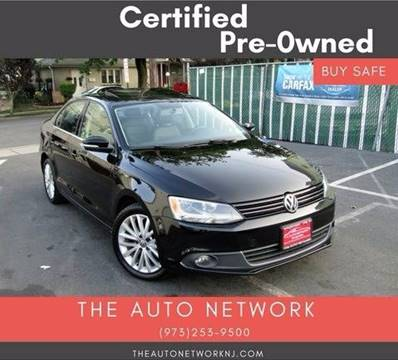 2012 Volkswagen Jetta for sale at The Auto Network in Lodi NJ