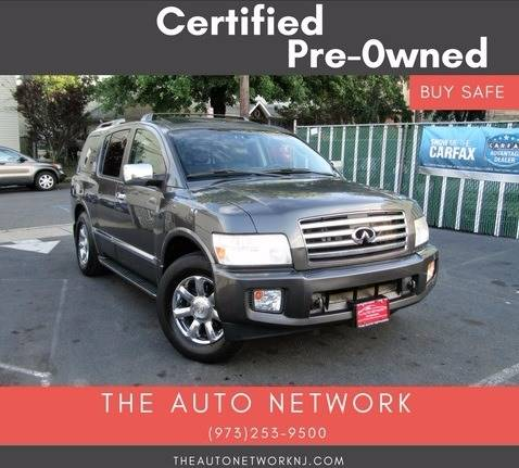 2005 Infiniti QX56 for sale at The Auto Network in Lodi NJ