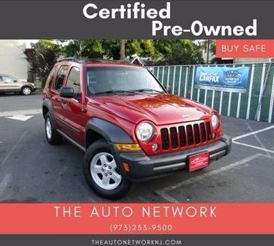 2007 Jeep Liberty for sale at The Auto Network in Lodi NJ