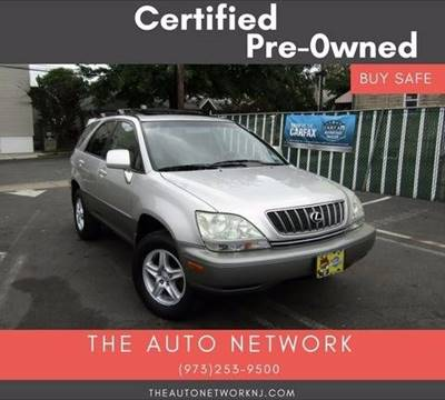 2002 Lexus RX 300 for sale at The Auto Network in Lodi NJ