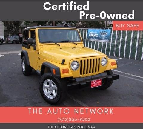 2006 Jeep Wrangler for sale at The Auto Network in Lodi NJ