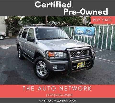 2001 Nissan Pathfinder for sale at The Auto Network in Lodi NJ