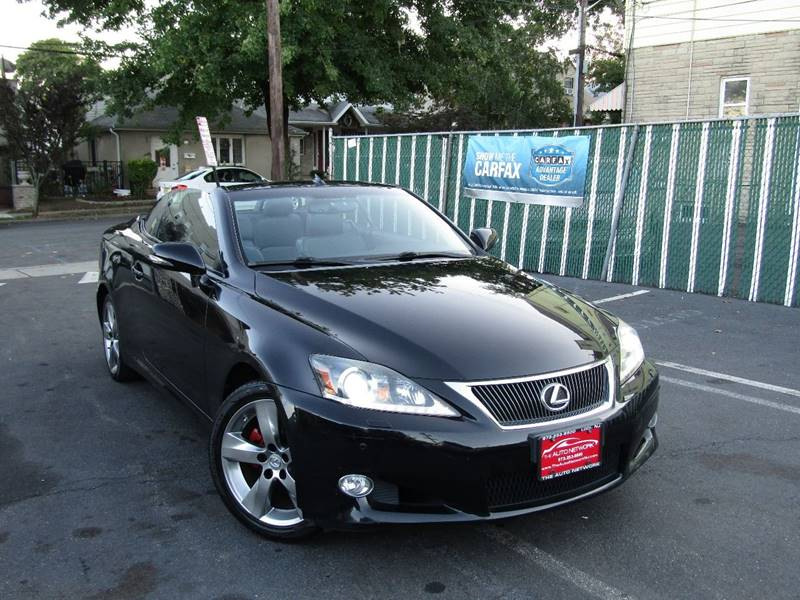2011 Lexus IS 250C for sale at The Auto Network in Lodi NJ