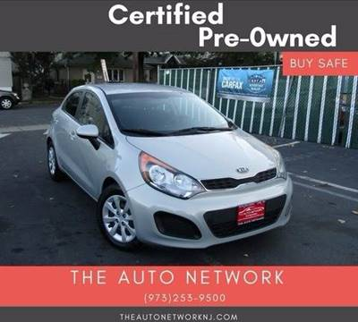 2013 Kia Rio5 for sale at The Auto Network in Lodi NJ