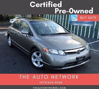 2006 Honda Civic for sale at The Auto Network in Lodi NJ