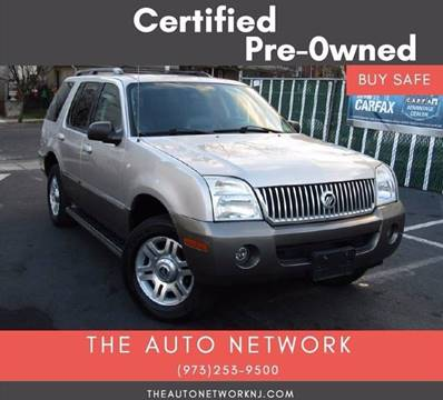 2004 Mercury Mountaineer for sale at The Auto Network in Lodi NJ