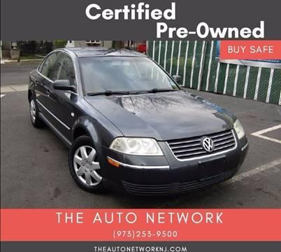 2003 Volkswagen Passat for sale at The Auto Network in Lodi NJ