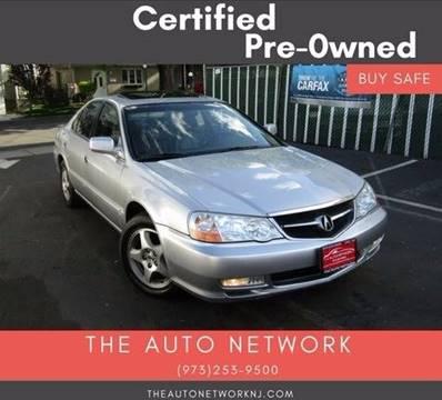 2003 Acura TL for sale at The Auto Network in Lodi NJ