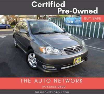 2007 Toyota Corolla for sale at The Auto Network in Lodi NJ