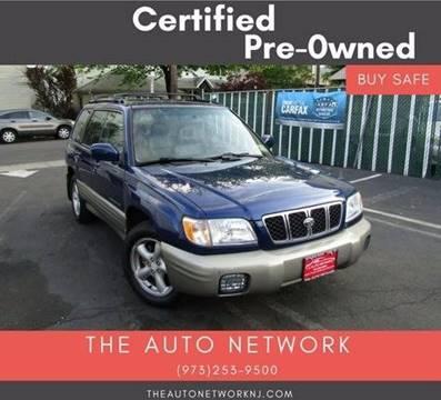 2001 Subaru Forester for sale at The Auto Network in Lodi NJ