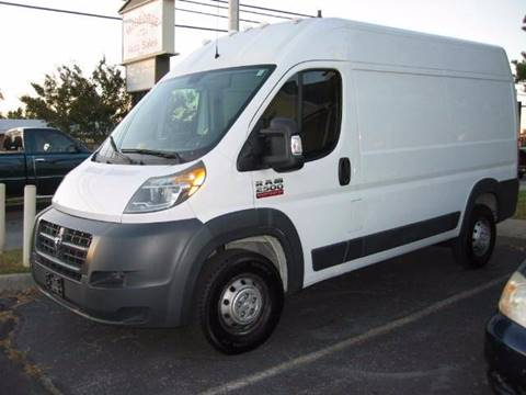 2014 RAM ProMaster Cargo for sale at HL McGeorge Auto Sales Inc in Tappahannock VA