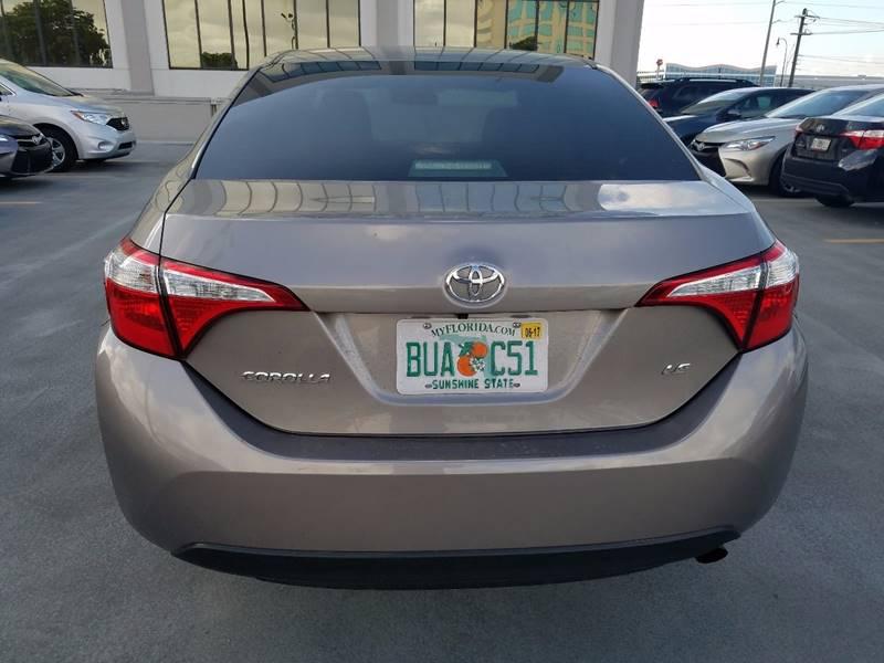 2014 Toyota Corolla  - Miami Springs FL