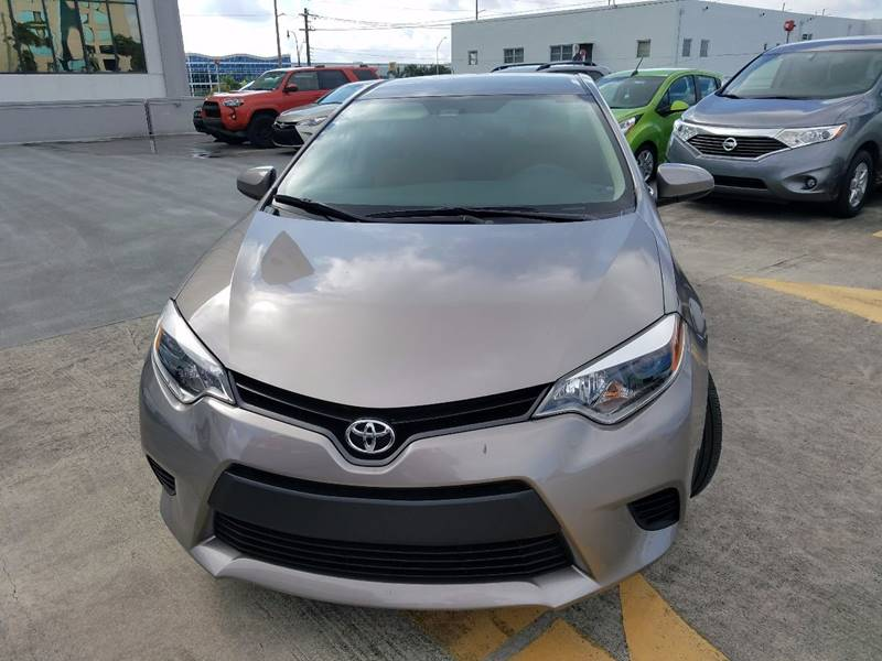 2014 Toyota Corolla LE 4dr Sedan - Miami Springs FL