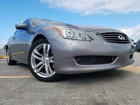 2009 Infiniti G37 Coupe for sale in Miami Springs, FL