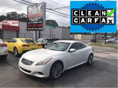 2009 Infiniti G37 Convertible for sale in Tampa, FL