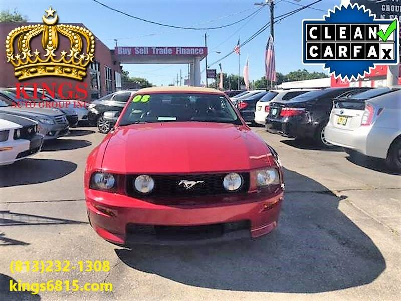 2008 Ford Mustang GT Premium 2dr Convertible In Tampa FL