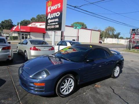 2002 Mitsubishi Eclipse Spyder for sale in Tampa, FL