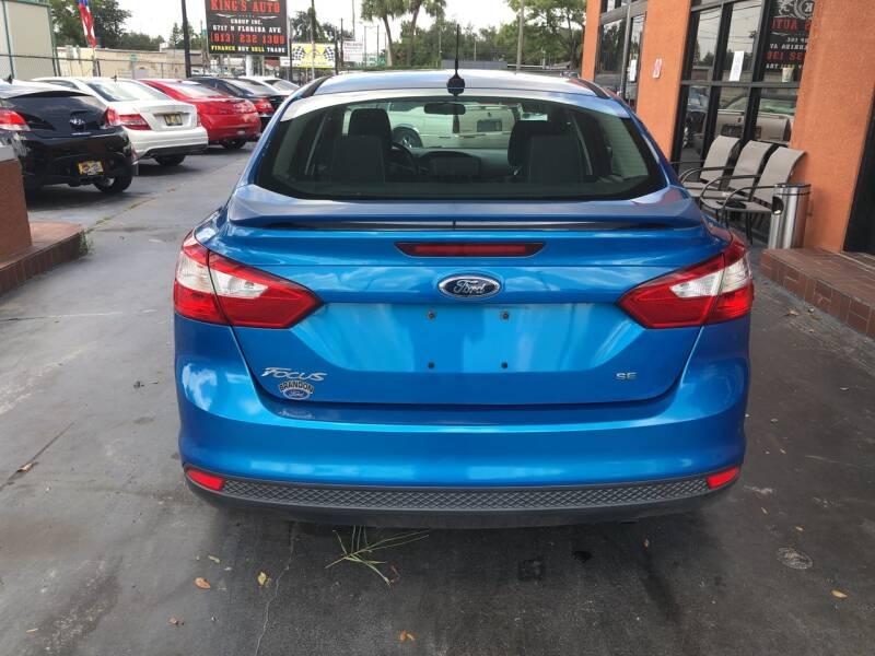 2012 Ford Focus SE 4dr Sedan - Tampa FL