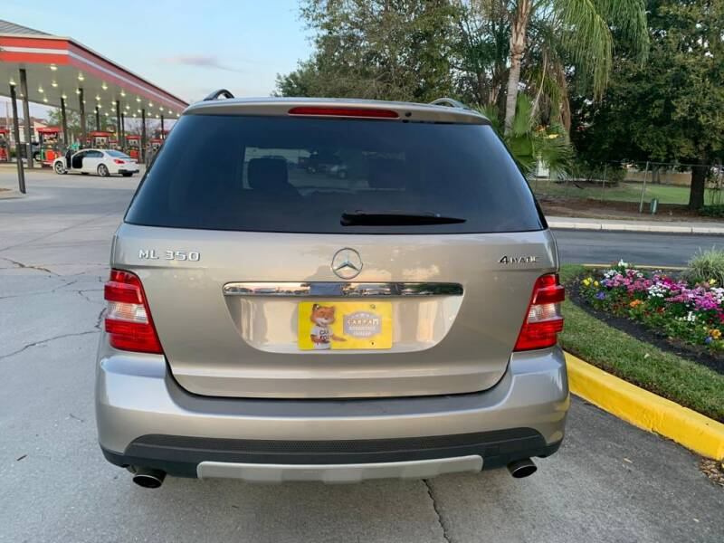 2006 Mercedes-Benz M-Class AWD ML 350 4MATIC 4dr SUV - Tampa FL
