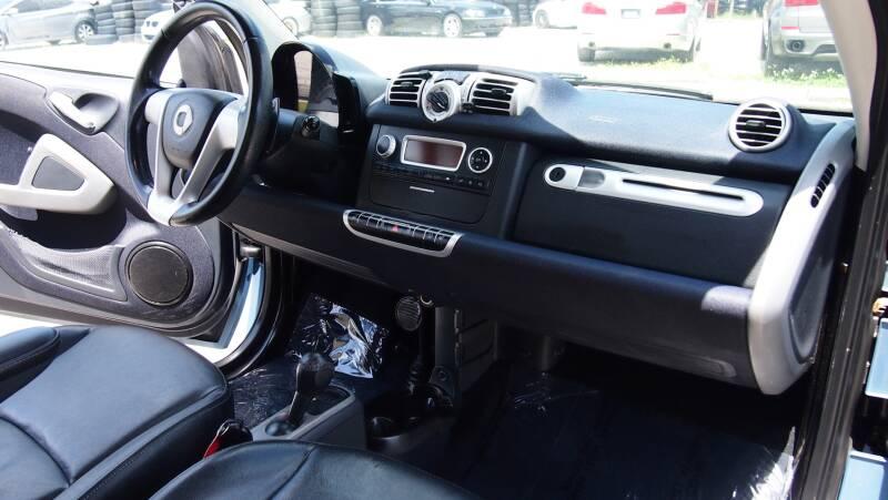 2012 Smart fortwo passion 2dr Hatchback - Tampa FL